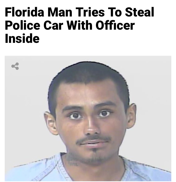 39 - Massive Tale Of The Fabled Florida Man's Exploits