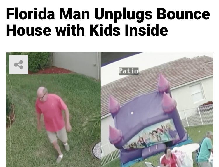 48 - Massive Tale Of The Fabled Florida Man's Exploits
