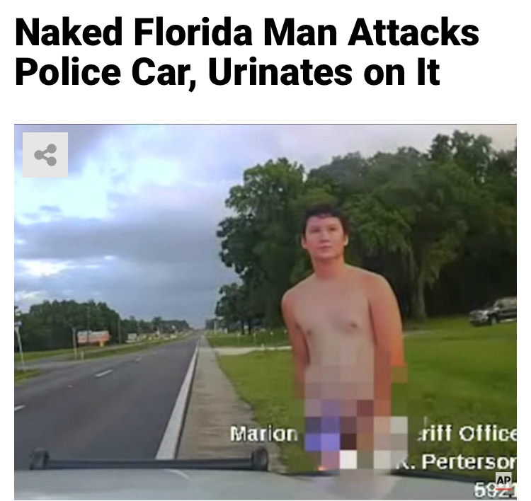 49 - Massive Tale Of The Fabled Florida Man's Exploits