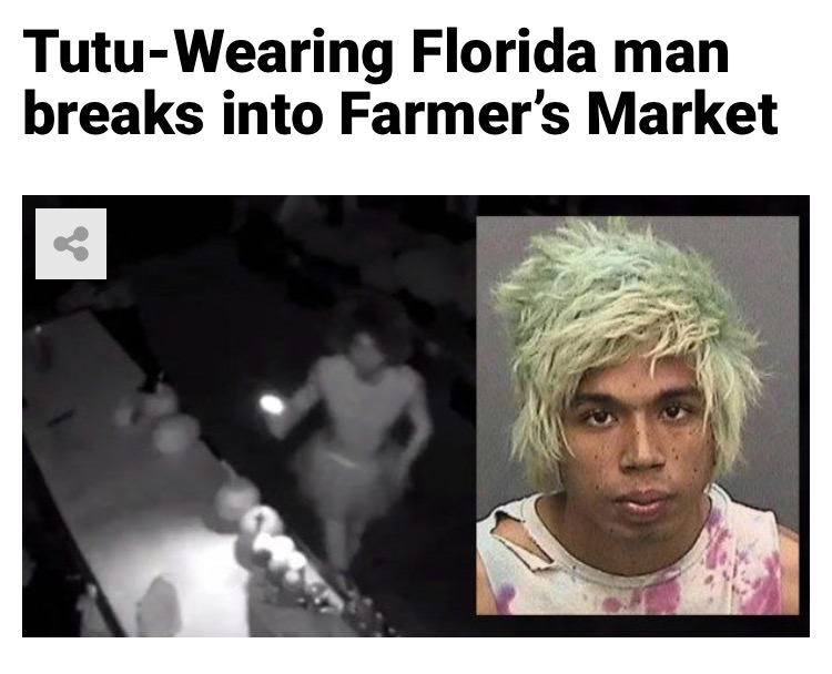 53 - Massive Tale Of The Fabled Florida Man's Exploits