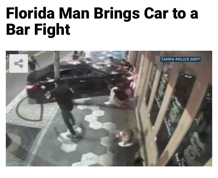 57 - Massive Tale Of The Fabled Florida Man's Exploits