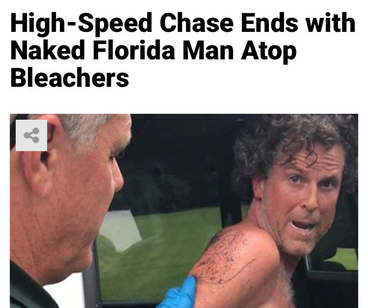 68 - Massive Tale Of The Fabled Florida Man's Exploits