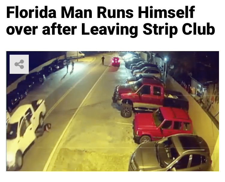 71 - Massive Tale Of The Fabled Florida Man's Exploits