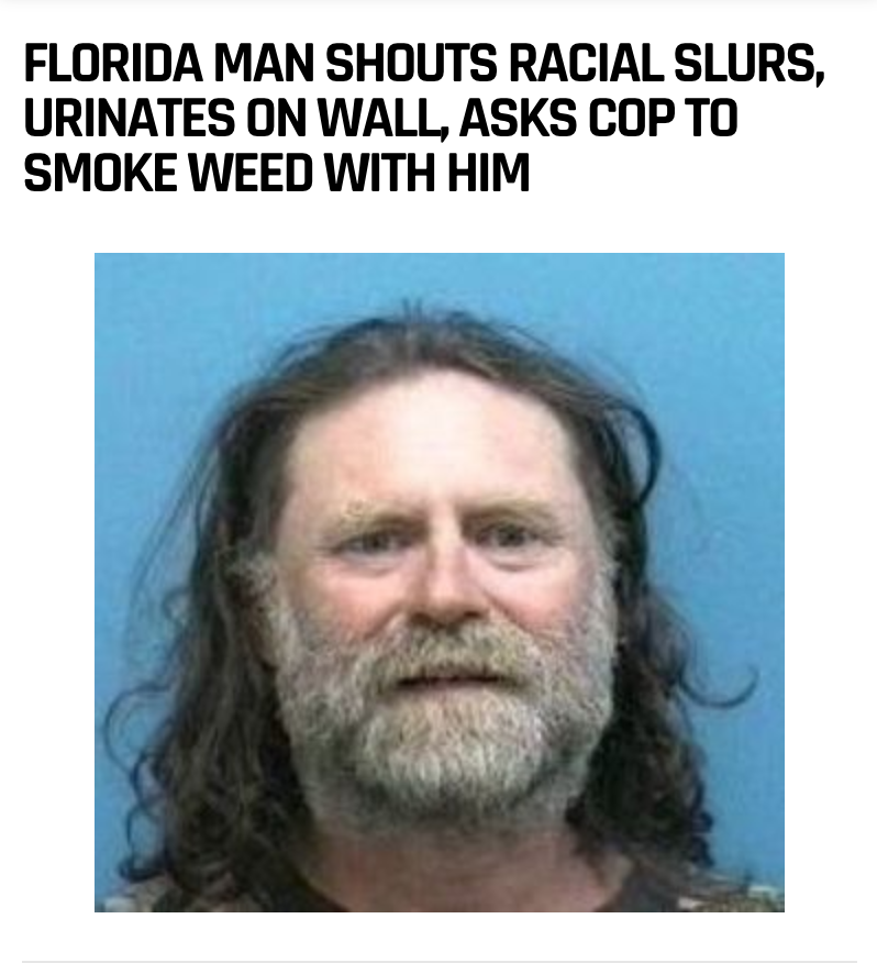 82 - Massive Tale Of The Fabled Florida Man's Exploits