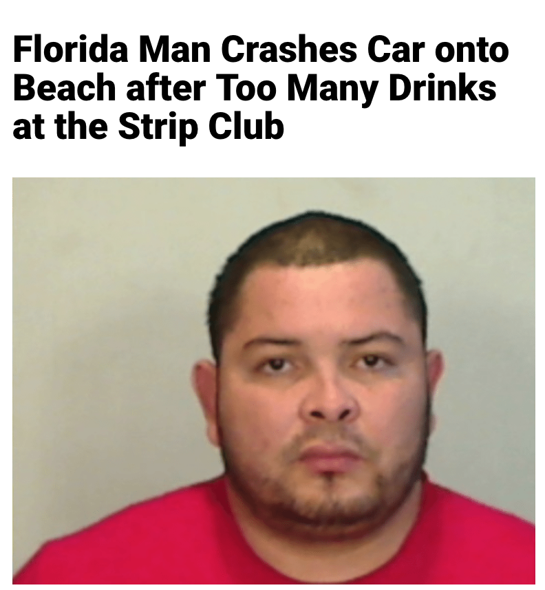 93 - Massive Tale Of The Fabled Florida Man's Exploits