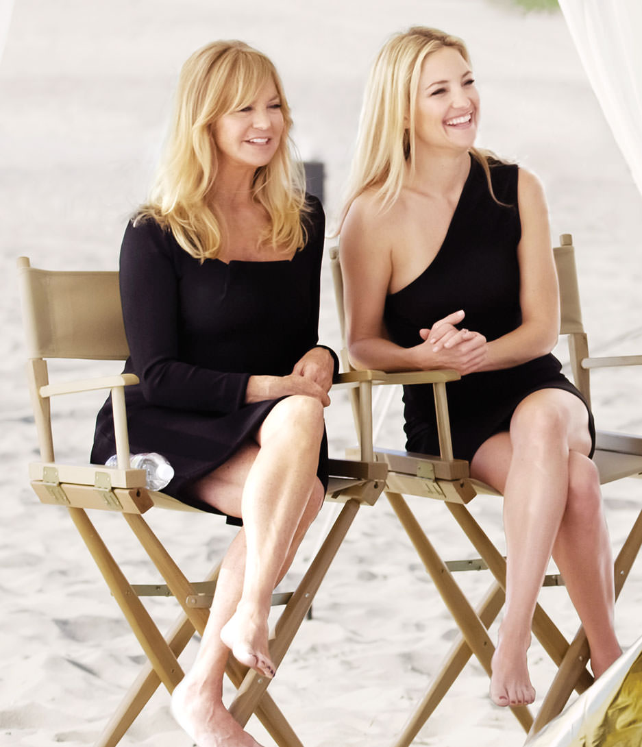 8 - Goldie Hawn and Kate Hudson.