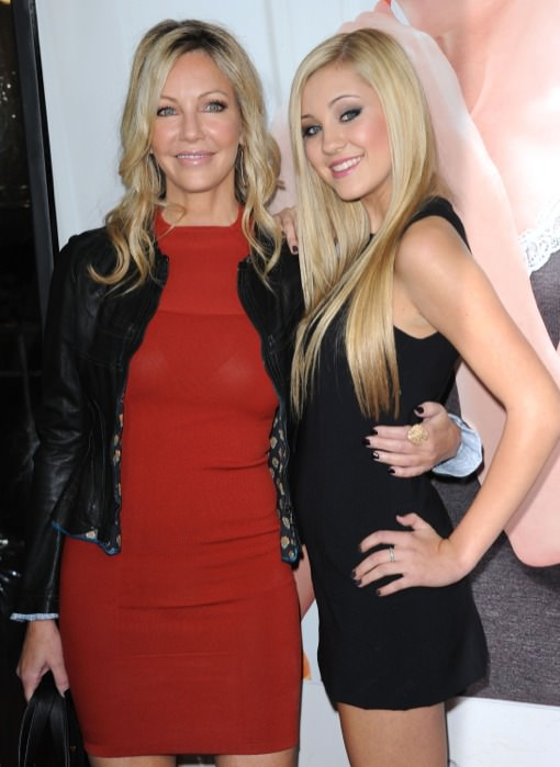 9 - Heather Locklear and her daughter Ava Elizabeth Sambora.
