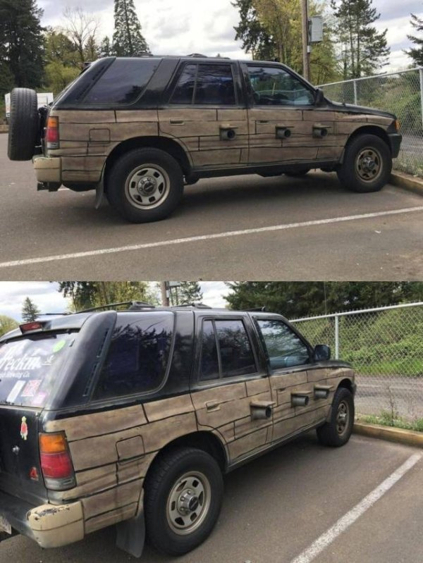 1 - 24 Redneck Car Modifications That Will Make You Doubt The Sanity Of Their Owners