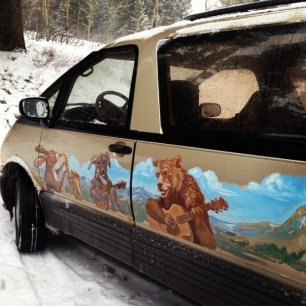 21 - 24 Redneck Car Modifications That Will Make You Doubt The Sanity Of Their Owners