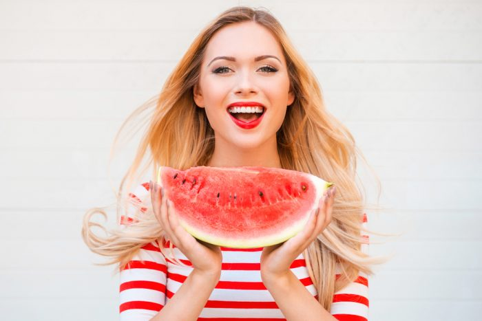 2 - 17 Girls With Their Watermelons To Give You A Taste Of Watermelonday