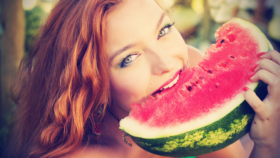 5 - 17 Girls With Their Watermelons To Give You A Taste Of Watermelonday