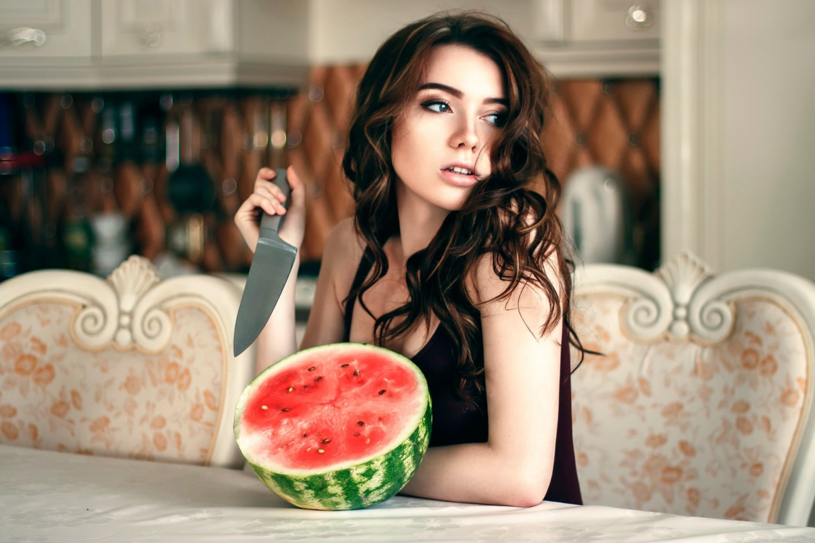 7 - 17 Girls With Their Watermelons To Give You A Taste Of Watermelonday