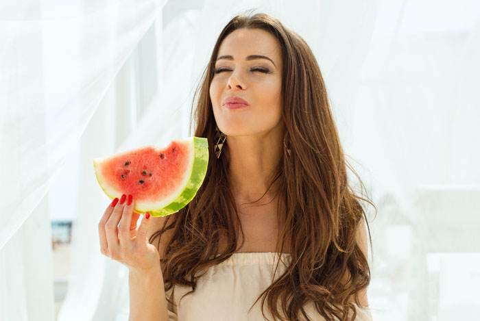 8 - 17 Girls With Their Watermelons To Give You A Taste Of Watermelonday