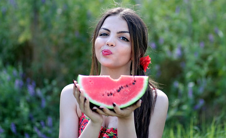 10 - 17 Girls With Their Watermelons To Give You A Taste Of Watermelonday