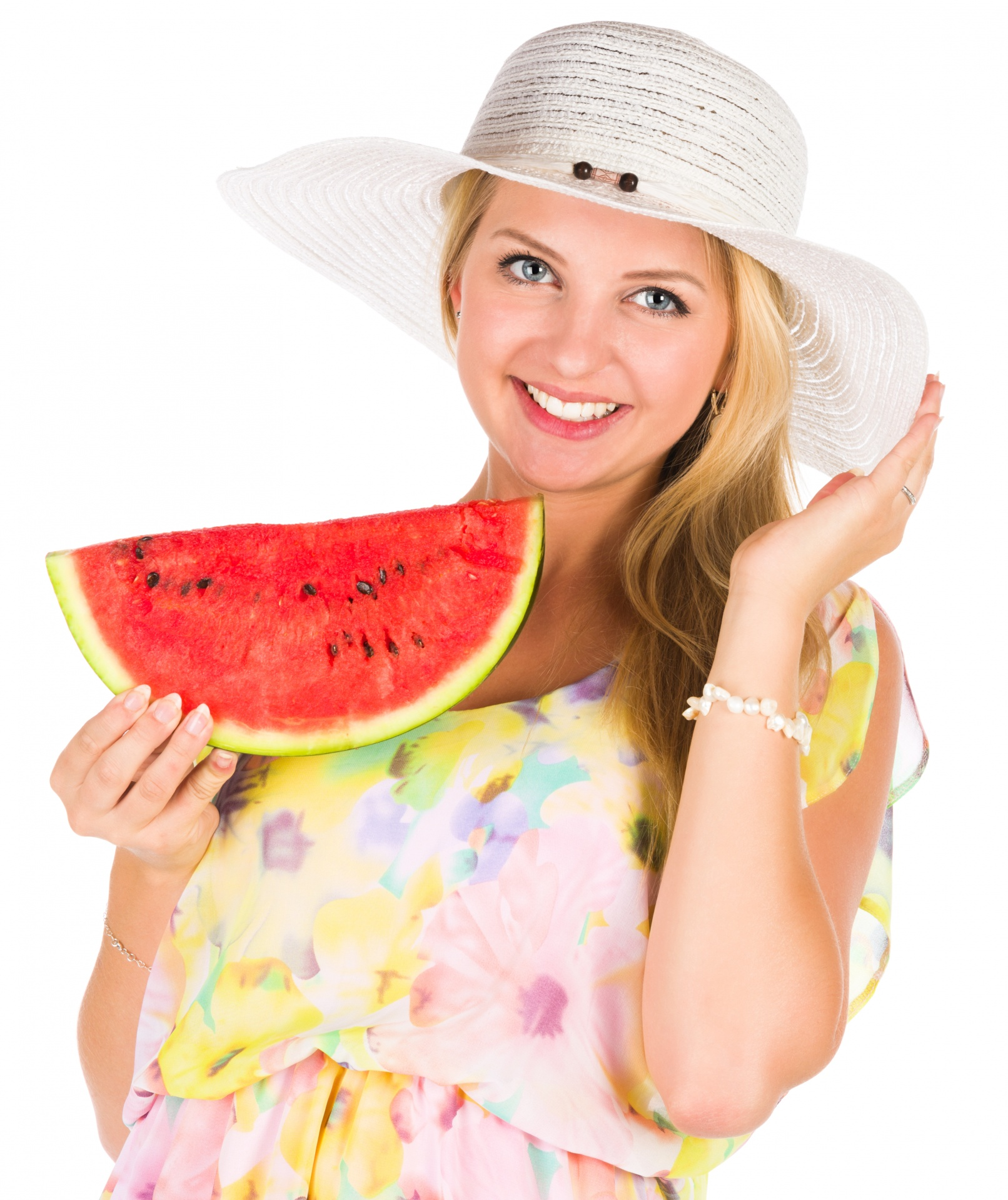 11 - 17 Girls With Their Watermelons To Give You A Taste Of Watermelonday