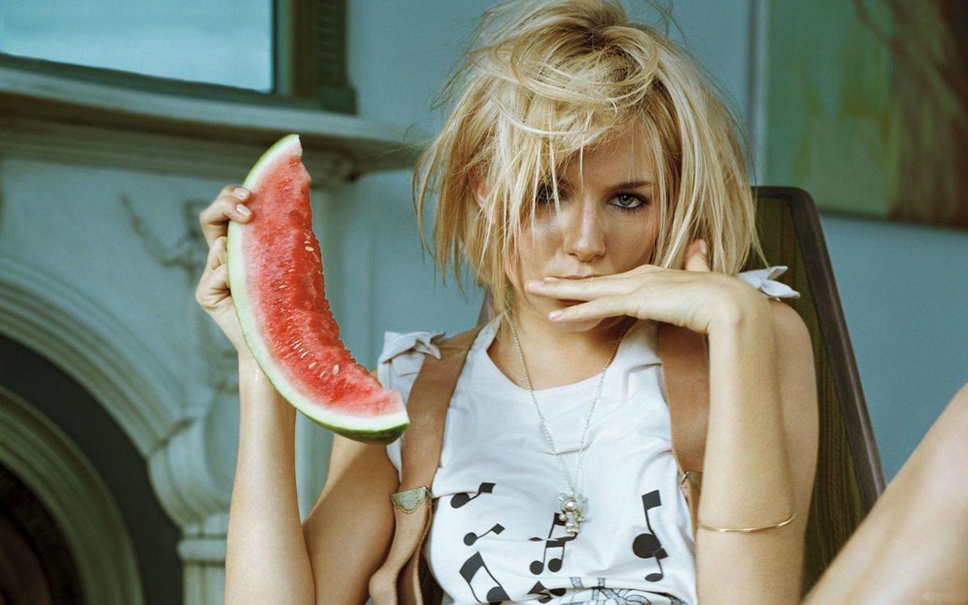 14 - 17 Girls With Their Watermelons To Give You A Taste Of Watermelonday
