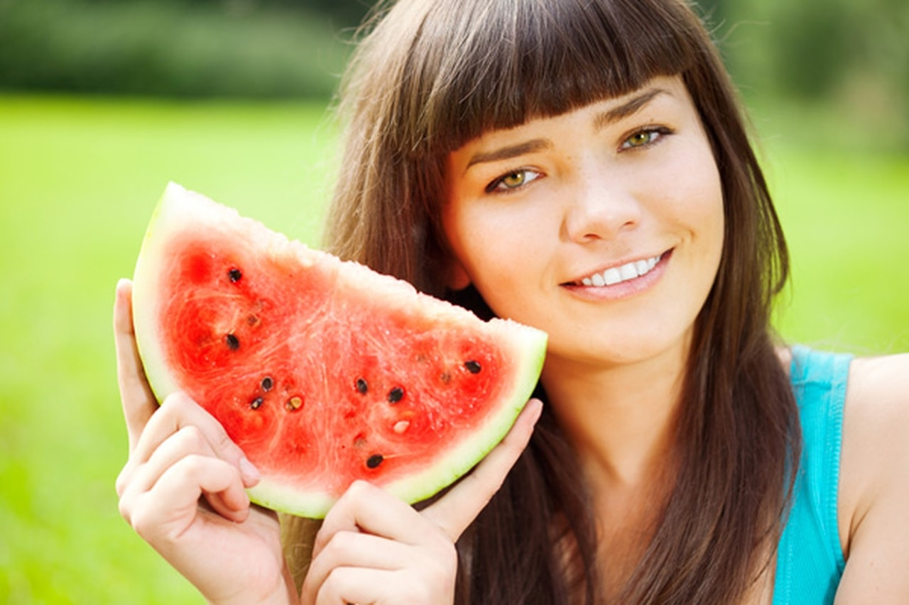 15 - 17 Girls With Their Watermelons To Give You A Taste Of Watermelonday