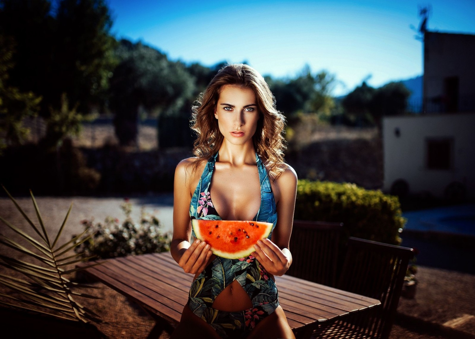 17 - 17 Girls With Their Watermelons To Give You A Taste Of Watermelonday