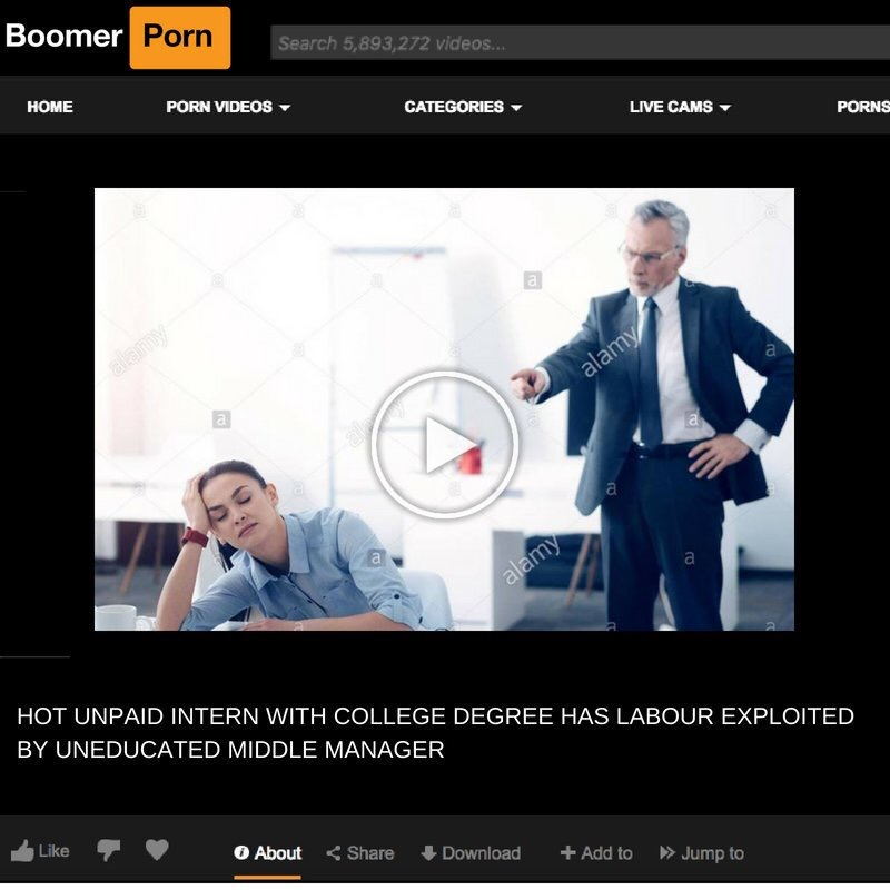 Baby boomers porn