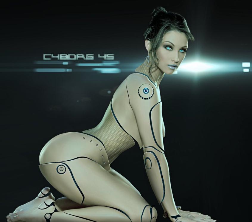 Bot machine makes her cum 3