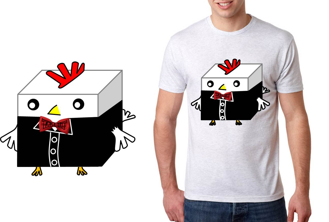 4 -  The official cock block t-shirt