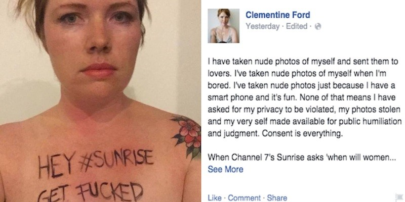 And nude page facebook