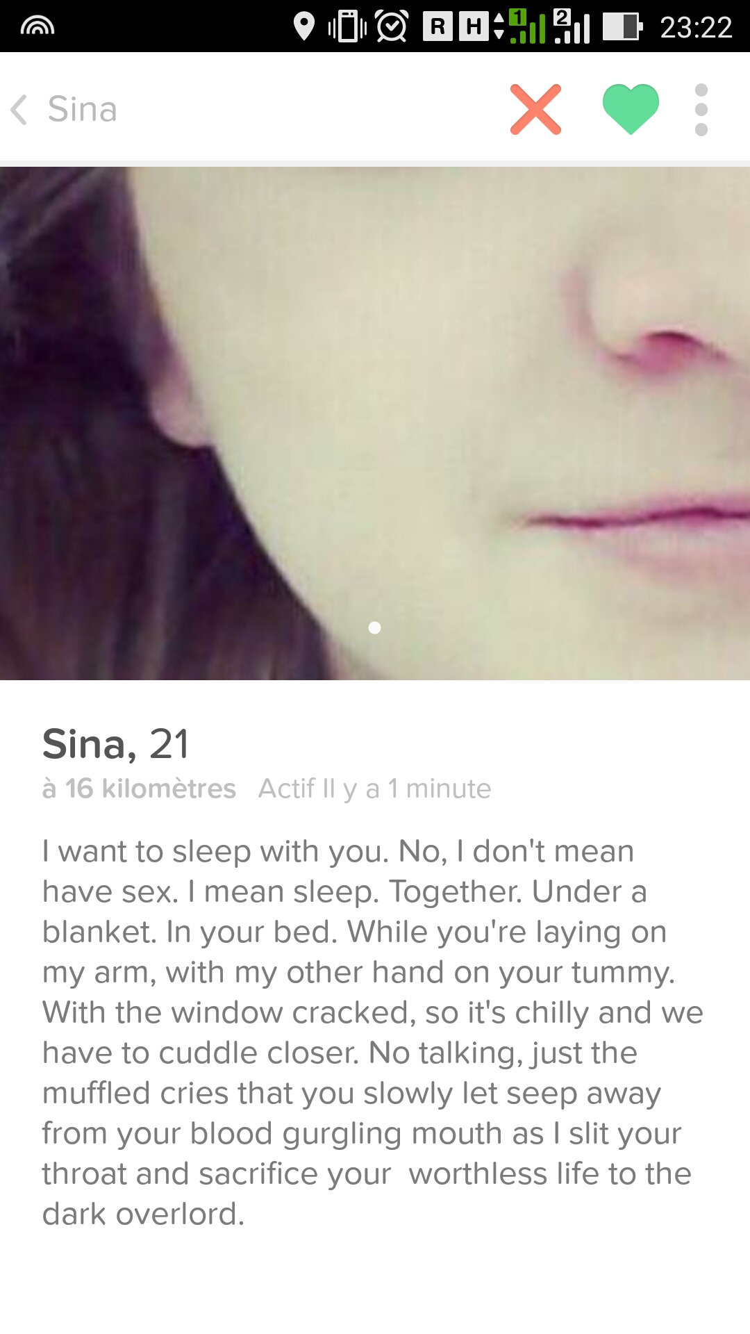 Girls On Tinder Who Will Make You Say WTF Funny Gallery - 20 strange tinder profiles that will make you laugh
