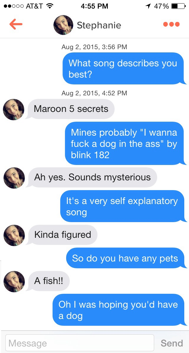 21 Examples Of Trolling Tinder Girls Right Gallery Ebaums World