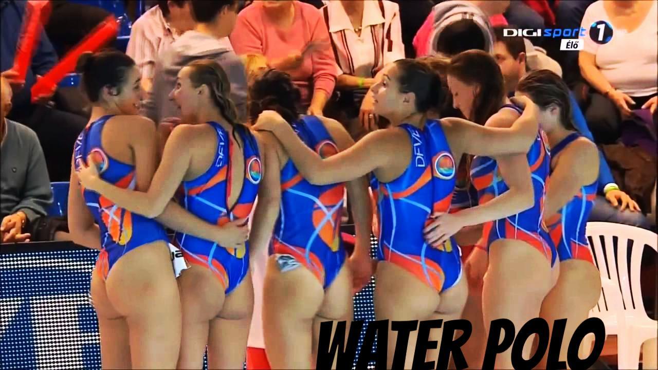 girl polo water amazing ass