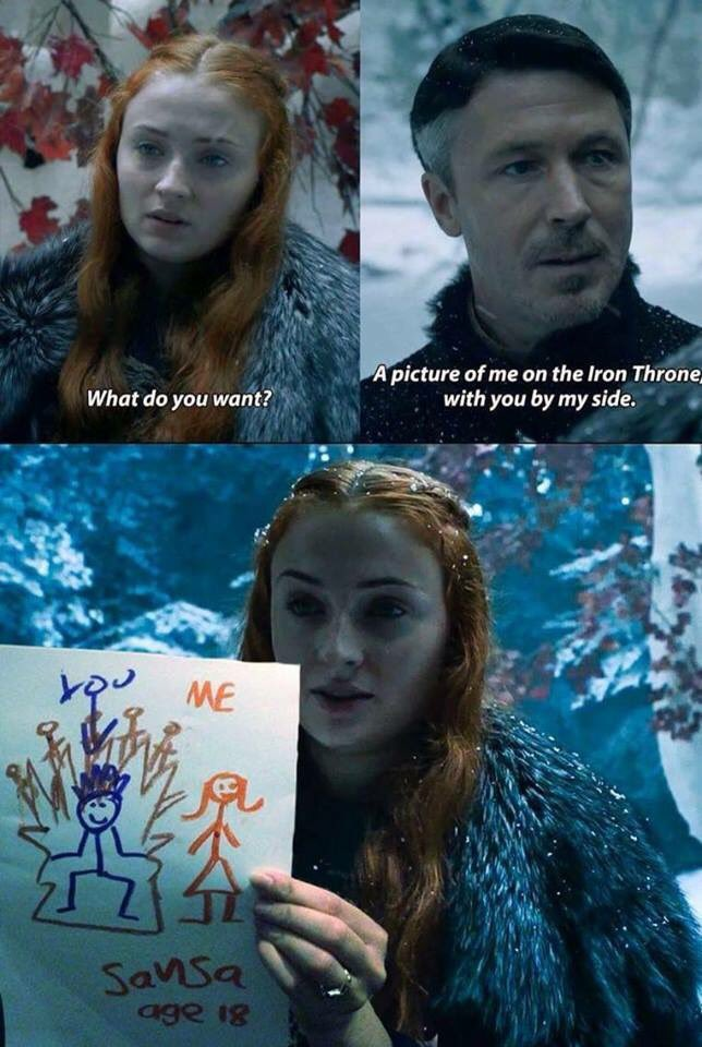 21 - Funny Game of Thrones meme