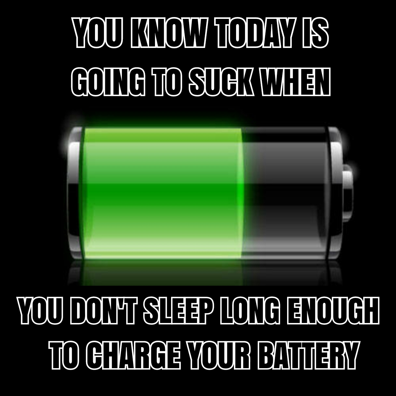 6 - When you sleep so little, your phone didn't have enough time to full charge up.