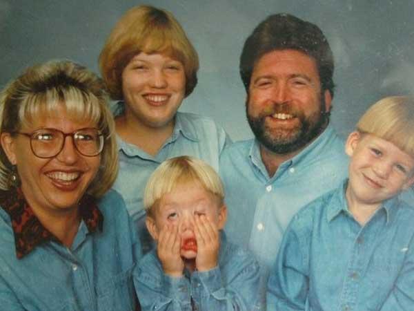 1 30 denim filled family photos