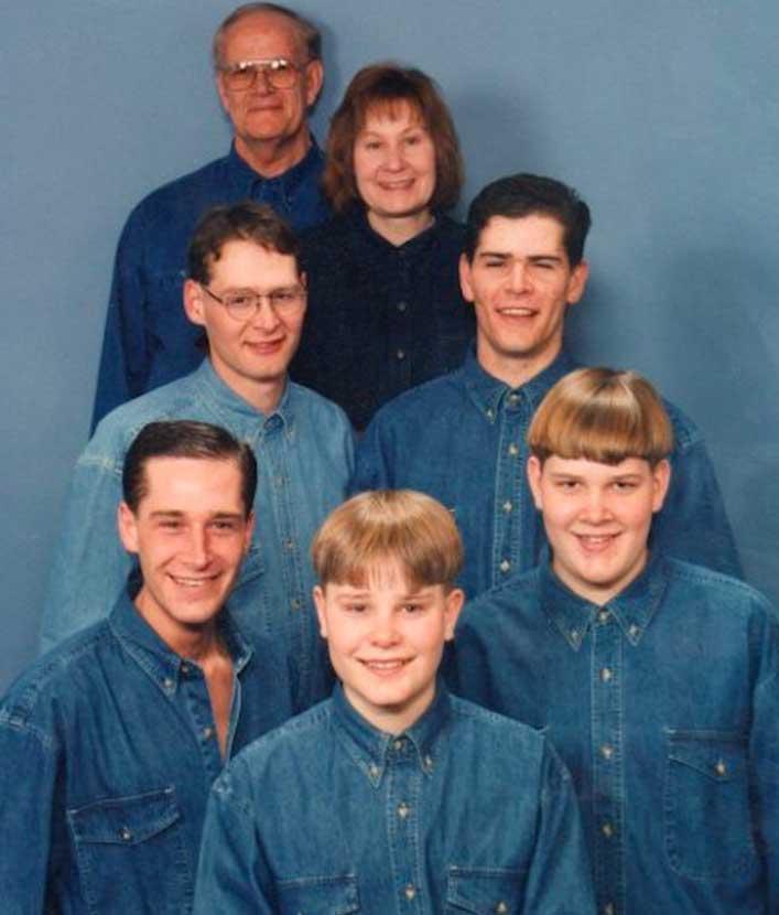 7 30 denim filled family photos