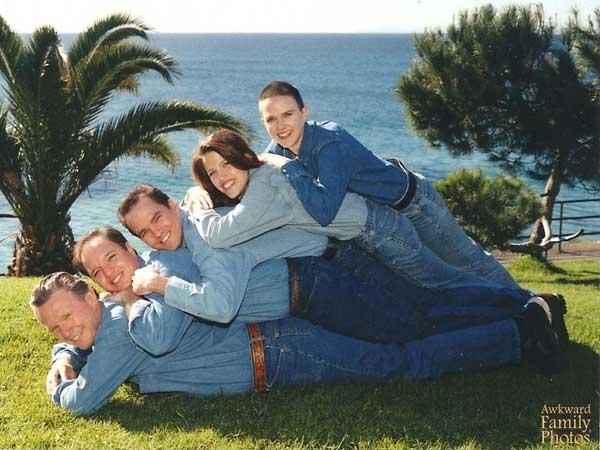 17 30 denim filled family photos