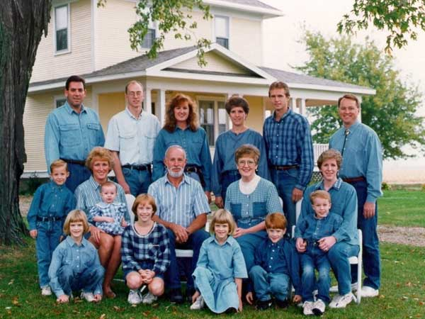 15 30 denim filled family photos