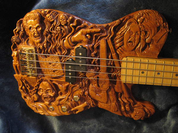 carved guitars by robert ironside gallery ebaum 39 s world. Black Bedroom Furniture Sets. Home Design Ideas