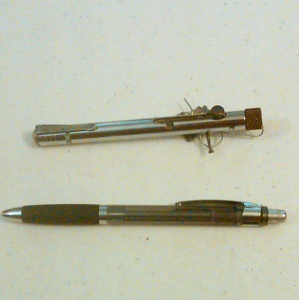 Stuff found in prison gallery ebaum 39 s world for How to make tattoo gun with pen