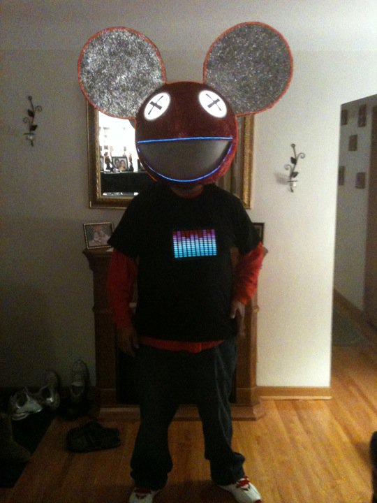 1 deadmau5 halloween head - Deadmau5 Halloween Head