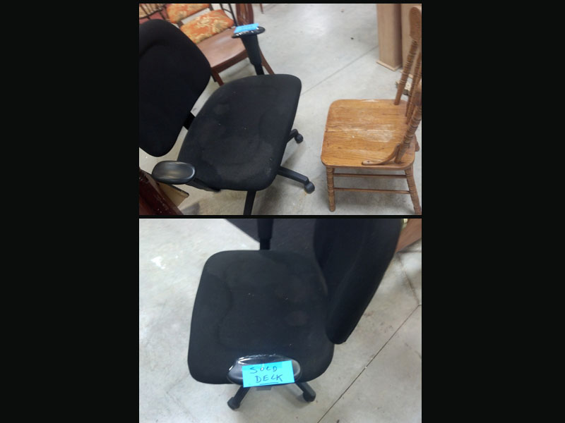 Someone Purchased A Double Wide Office Chair
