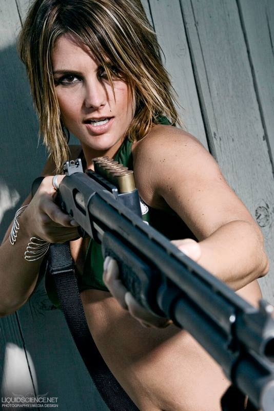 Opinion the hot girls with machine guns something