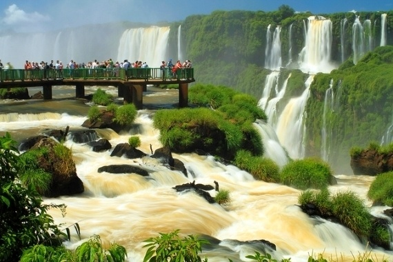 2 - Iguazu Waterfalls in Brazil and Argentina