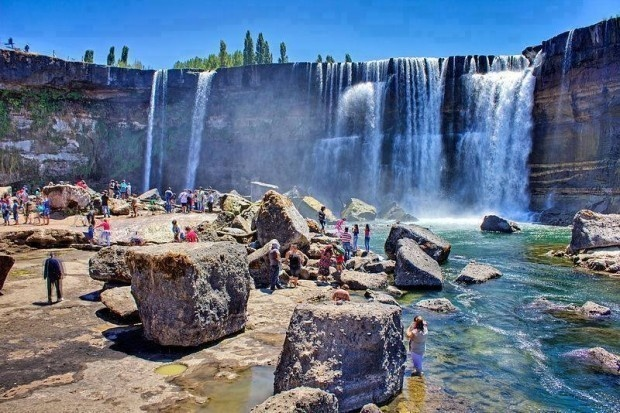 6 - The Laja Falls in Chile