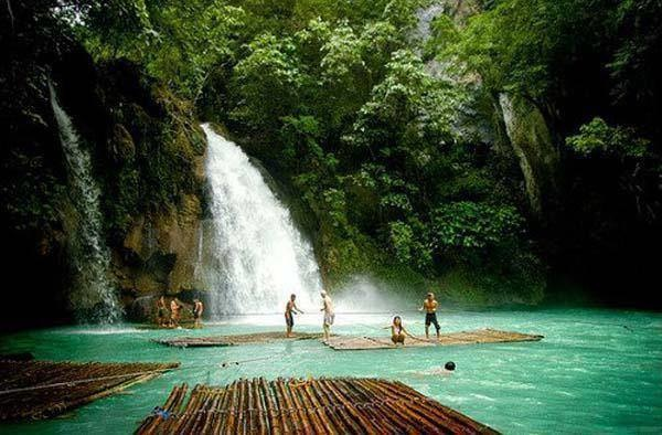 8 - The Kawasan Falls in Badian, Cebu, Philippines