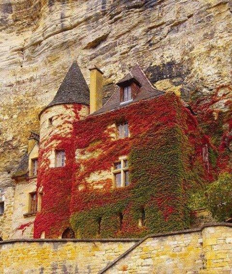 10 - A 12th century fortress in Normandy, France