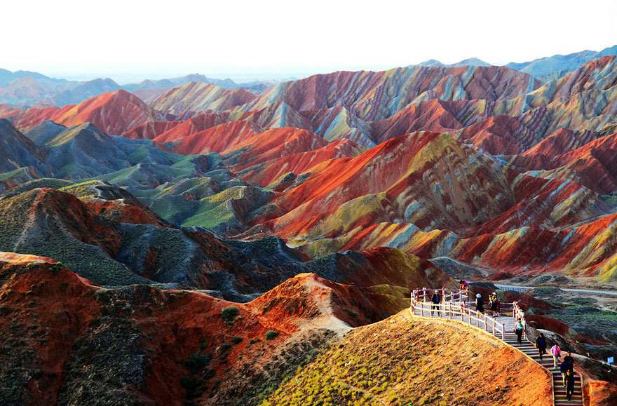 15 - Zhangye Danxia Landform in China