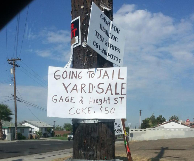 Funny Yard Sale Meme : 27 garage sale signs that nailed it funny gallery ebaum's world