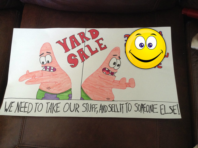 Funny Yard Sale Meme : Garage sale signs that nailed it funny gallery