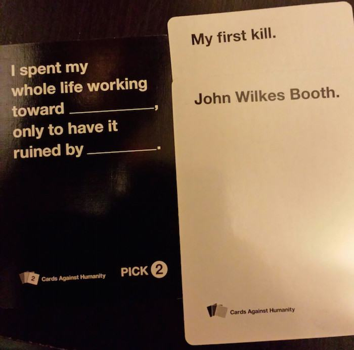 cards of humanity examples