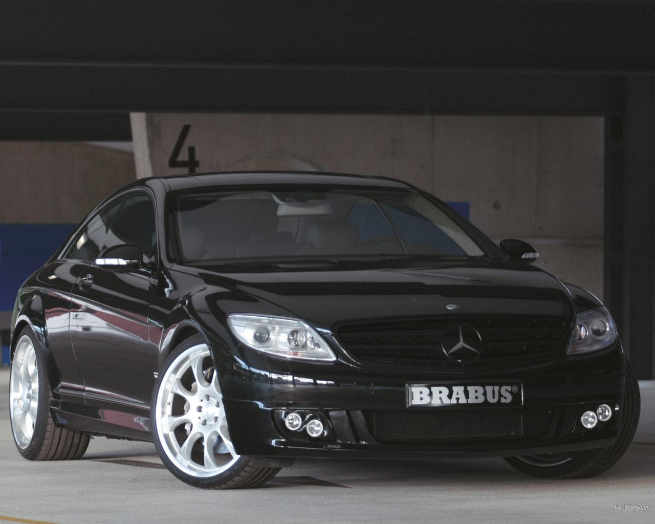 Mercedes Benz CL Class CL Brabus 808 Wallpaper