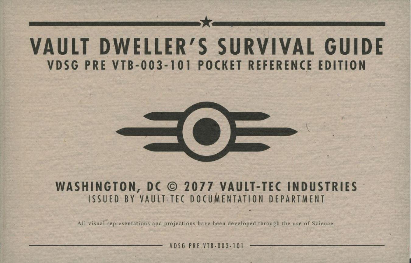 fallout vault 4 survival guide pdf